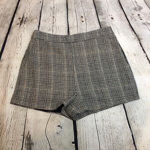 Plaid Tartan Shorts English Factory NWT